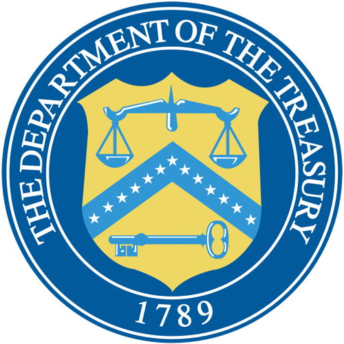 Seal of the Department of the Treasury